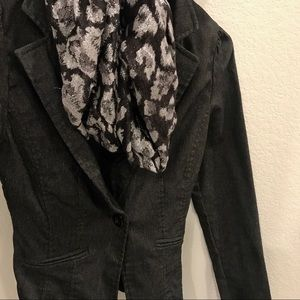 Jackets & Blazers - small dark gray blazer